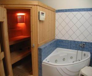 Мини-сауна в ванной комнате