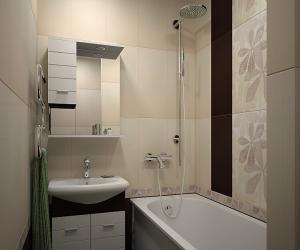 Ванная комната и удобный шкафчик