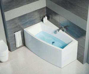 Особенности асимметричных ванн