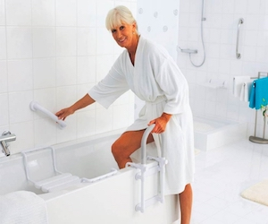 Удобная ванная для инвалидов