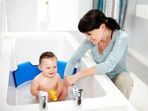 Безопасная ванная комната для ребёнка